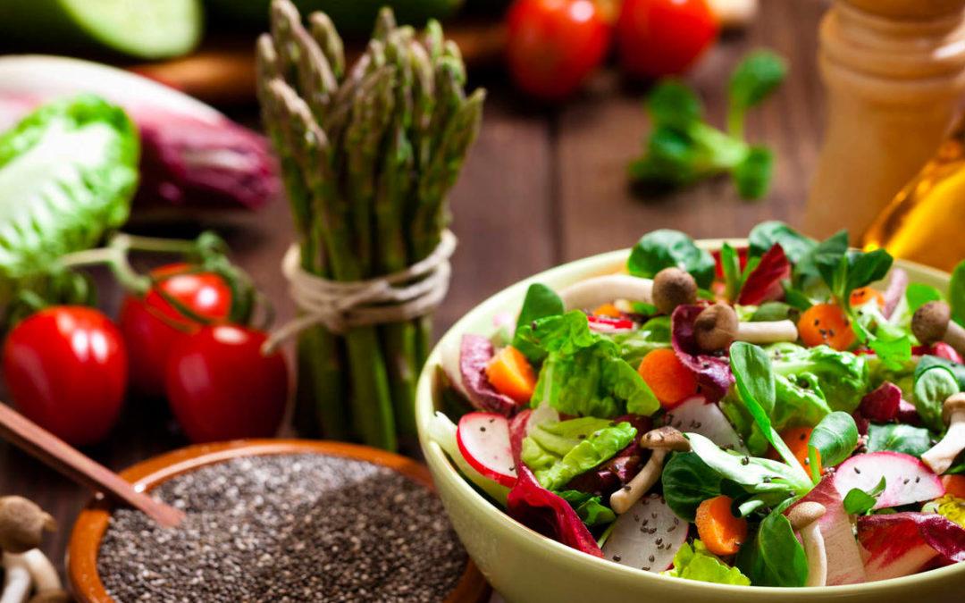Clase Comida Vegetariana en línea